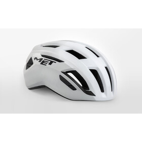 MET Vinci MIPS Casco, shaded white glossy